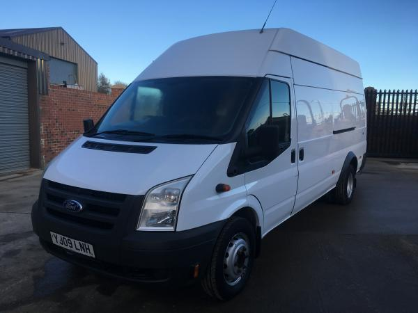 ford transit 115t460 jumbo van with compressor and generator   air