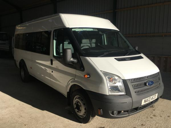 FORD TRANSIT 135T430 17 SEAT MINI BUS EURO 5 for