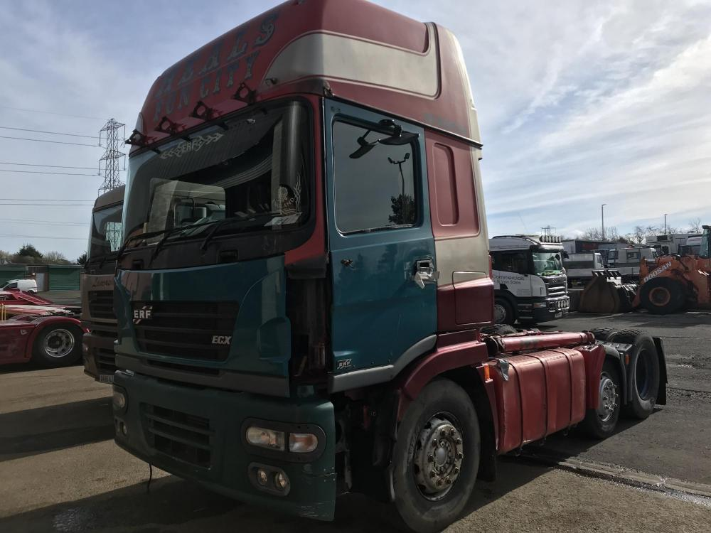 bea5e8bb95 ERF ECX 6x2 tractor unit x2 Tractor unit for Sale - B J Commercials