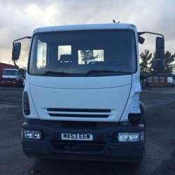 IVECO EUROCARGO 180E24 18 TON ROL ON OF ROPE LIFT HOOK LOADER