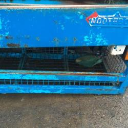 NOOTEBOOM SKIP LOADER SKIP BODY EXTENDING ARMS,