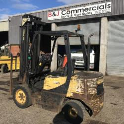 DOOSAN FORK LIFT 3 TON DIESEL FORK LIFT GOOD WORKING ORDER