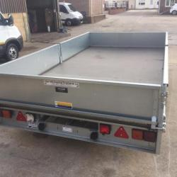 IFOR WILLIAMS LM 35 TWIN AXLE 12FT TRAILER NEW UNUSED