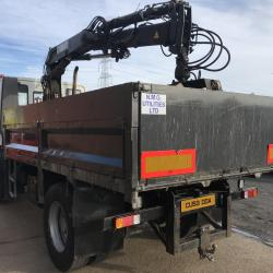IVECO EUROCARGO 130 E18 TIPPER WITH CRANE Grab lorry 13 ton hiab071