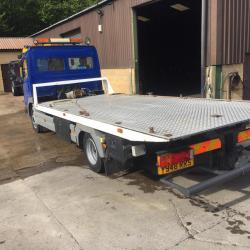 MERCEDES-BENZ ATEGO 7.5 ton SLIDE AND TILT RECOVERY TRUCK WITH SPEC LIFT