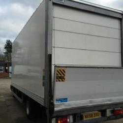iveco EUROCARGO 75E16 20FT BOX WITH TAIL LIFT