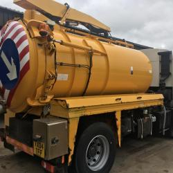 DENNIS ELITE 2 VACUUM TANKER Whale body fully sucker ex council