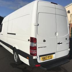 MERCEDES-BENZ SPRINTER 314 lwb VAN 4 meter van manual gearbox good condition Euro 6
