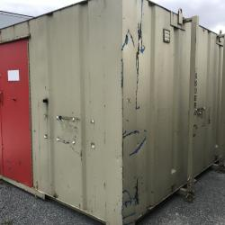 Small toilet block Shipping container