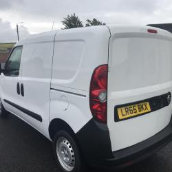 VAUXHALL COMBO VAN Side door only 34.000 miles