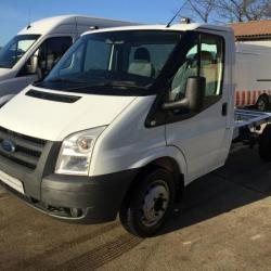 FORD TRANSIT 100T350 MWB CHASSIS CAB