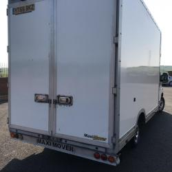 Peugeot boxer low floor maxi mover Luton van with air conditioning