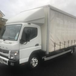 MITSUBISHI CANTER FUSO 7C15 CURTAIN SIDE TRUCK