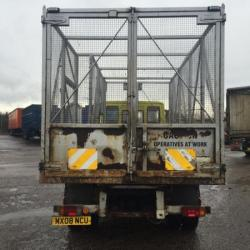 7.5 TON CADGE TIPPER WITH SIDE TAIL LIFT. LINK TIP