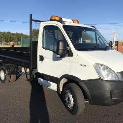 Iveco Daily 70c18 7 ton gross tipper ex council euro 5