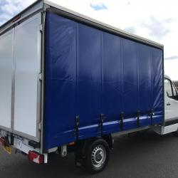 Mercedes-Benz Sprinter 313 curtain side truck manual gearbox