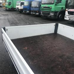 Flat bed body drop side Removed from a transit lwb