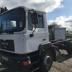 MAN 18 TON CHASSIS CAB
