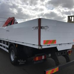 MERCEDES-BENZ AXOR 1824 FASSI F95 CRANE ALLOY DROP SIDE MANUAL GEARBOX STEEL SUSPENSION