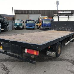 MAN LE 160 7.5 TON FLAT BED TRUCK Manual gearbox