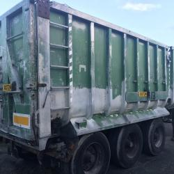FRUEHAUF tipping trailer Tipper trailer tri axle