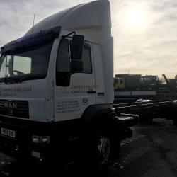 Man 18 ton chassis cab Chassis cab manual gearbox