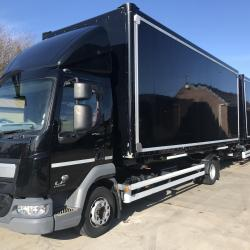DAF LF 45.250 12 ton DEMOUNT BOX WITH DRAG Air conditioning Euro 6 1 company owner