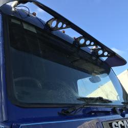 SCANIA143 450 tag axle top line stream line 6x2 Tractor unit v8