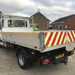 IVECO DAILY 70C17 CREW CAB TIPPER Only 68.000 miles ex council