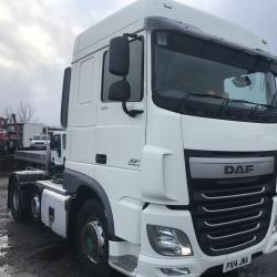 DAF XF 105.460 6x2 TRACTOR UNIT MANUAL GEARBOX Tipping gear Euro 6