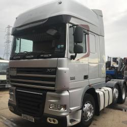 DAF XF 105.460 6x2 TRACTOR UNIT Manual gearbox air conditioning