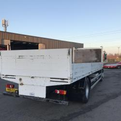 DAF LF 55.220 18 ton drop side truck 26ft drop side truck