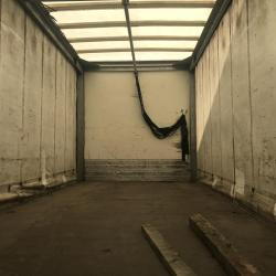 20ft curtain side truck body only Body