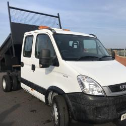 IVECO DAILY 70c18 3.0 CREW CAB TIPPER Tipper