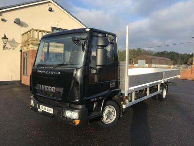 Iveco eurocargo 75e16 21ft new alloy drop side Air conditioning 3 cab seats