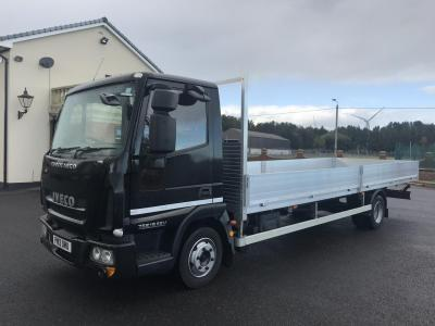 IVECO EUROCARGO 75E16 7.5 ton 22ft ALLOY DROP SIDE TRUCK IDEAL SCAFFOLDING 3 cab seats new body
