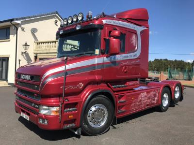 SCANIA 164 T480 6x2 TRACTOR UNIT Twin tag