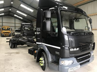 DAF LF 45.210 12 ton CHASSIS CAB EURO 5 Air conditioning 210 bhp