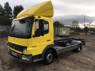 MERCEDES-BENZ atego 1018 10 ton demount chassis cab