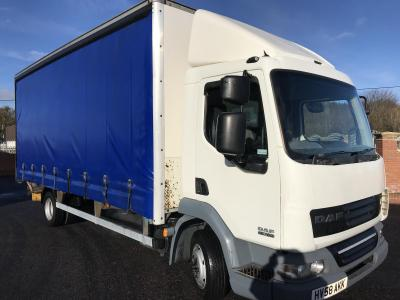 DAF LF 45.160 7.5 ton CURTAIN SIDE TRUCK Curtain side