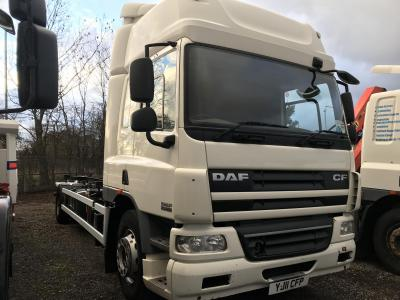 Daf cf 75.360 18 ton chassis cab Demount manual gearbox