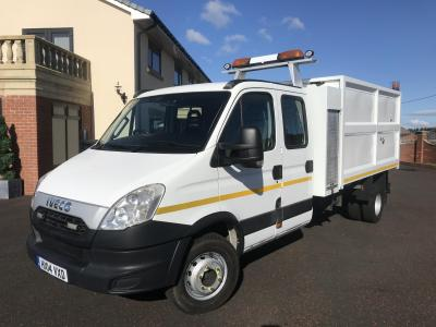 IVECO DAILY 65C17 CREW CAB TIPPER Chipper body good condition