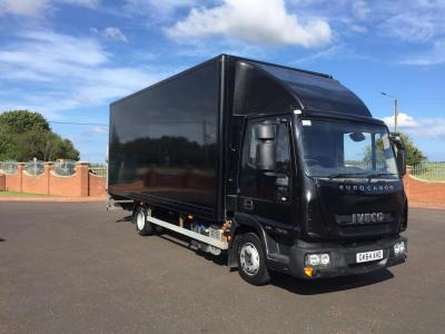 IVECO EUROCARGO 75E16 20FT BOX WITH ALLOY TAIL LIFT