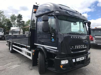 IVECO EUROCARGO 180E25 DROP SIDE TRUCK Sleeper cab manual gearbox air conditioning